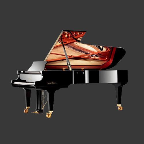德国舒密尔九尺三角钢琴