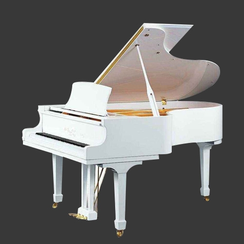 舒密尔W180白色三角钢琴
