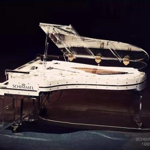 德国舒密尔水晶钢琴